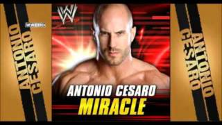 "WWE Antonio Cesaro Theme Song ""Miracle"""