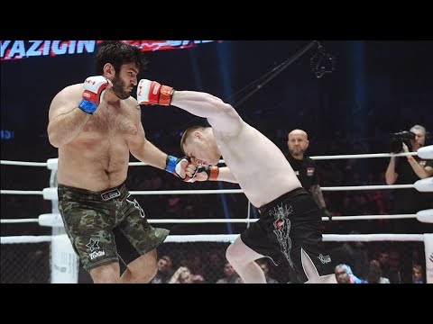 16 секунд и ЧЕМПИОН МИРА В НОКАУТЕ! Череповецкий гигант Антон Вязигин VS Заур Гаджибабаев!