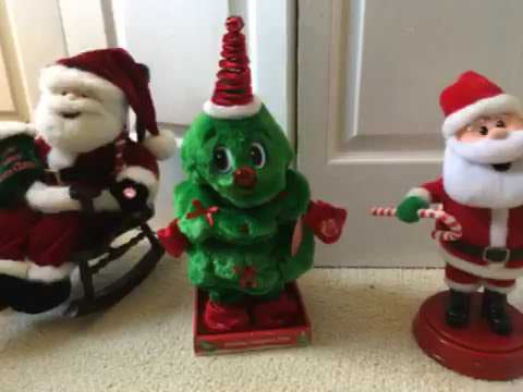 Animated Christmas Decorations Part 1