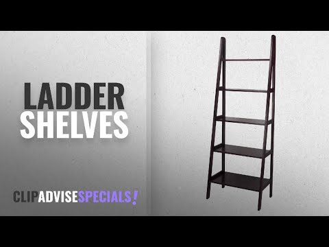10 Best Ladder Shelves [2018 Best Sellers] | Accent Furniture