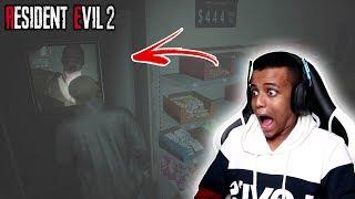 زومبي في كل مكان(راح أنجلط😨)|Resident Evil 2 Remake