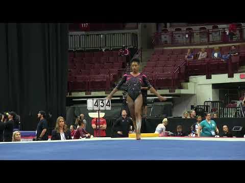 Shania Adams - Floor Exercise - 2018 GK U.S. Classic - Senior Competition