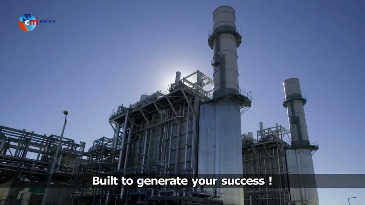 CMI ENERGY, the new generation in power! - YouTube