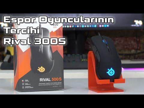 Espor Oyuncularının Tercihi SteelSeries RIVAL 300S Oyuncu Faresi