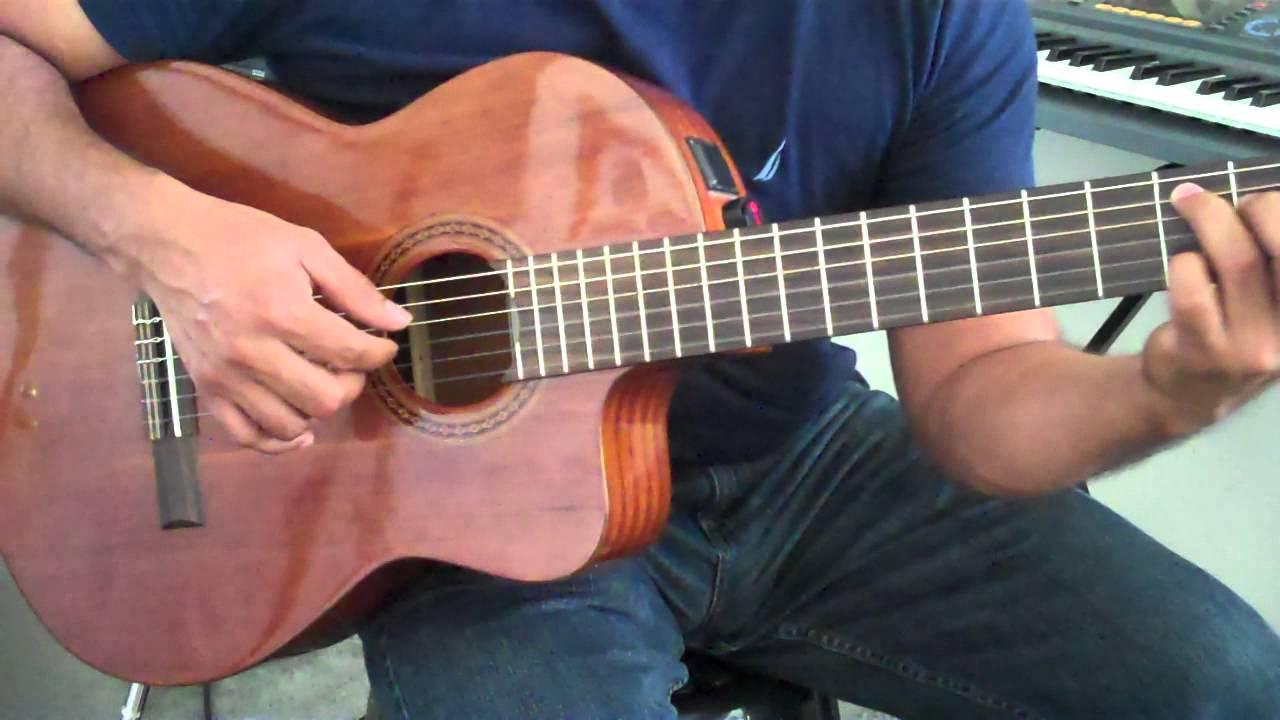 Balada Para Adelina Guitar Youtube