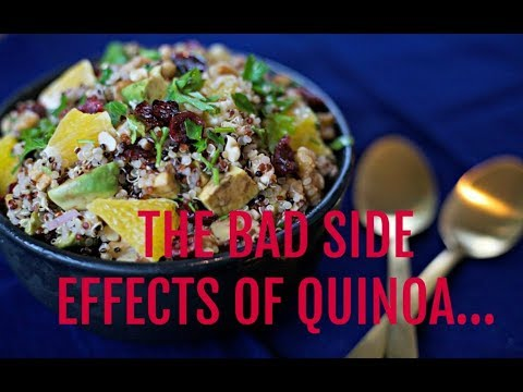Superfood Quinoa-The Bad Side Effect of Quinoa and How to Avoid It!