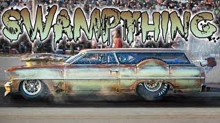 SWAMP THING - Chopped Rusty Nitrous Wagon!