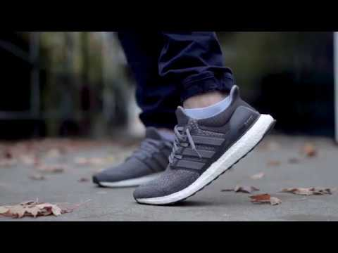 d1a3cf152e11b EXTREMELY RARE BOOST (MYSTERY GREY ULTRA BOOST 1.0 ON FEET REVIEW ...