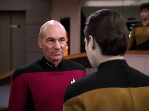 "Banned Star Trek TNG clip from ""The High Ground"" (HD)"