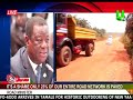 It's a shame only 23% of our entire road network is paved - Roads Minister