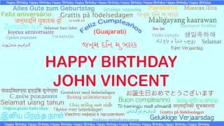 JohnVincent   Languages Idiomas - Happy Birthday