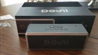 (Episode 2171) Amazon Prime Unboxing: DOUNI (A7) 20W Portable Bluetooth Wireless Speaker  @amazon