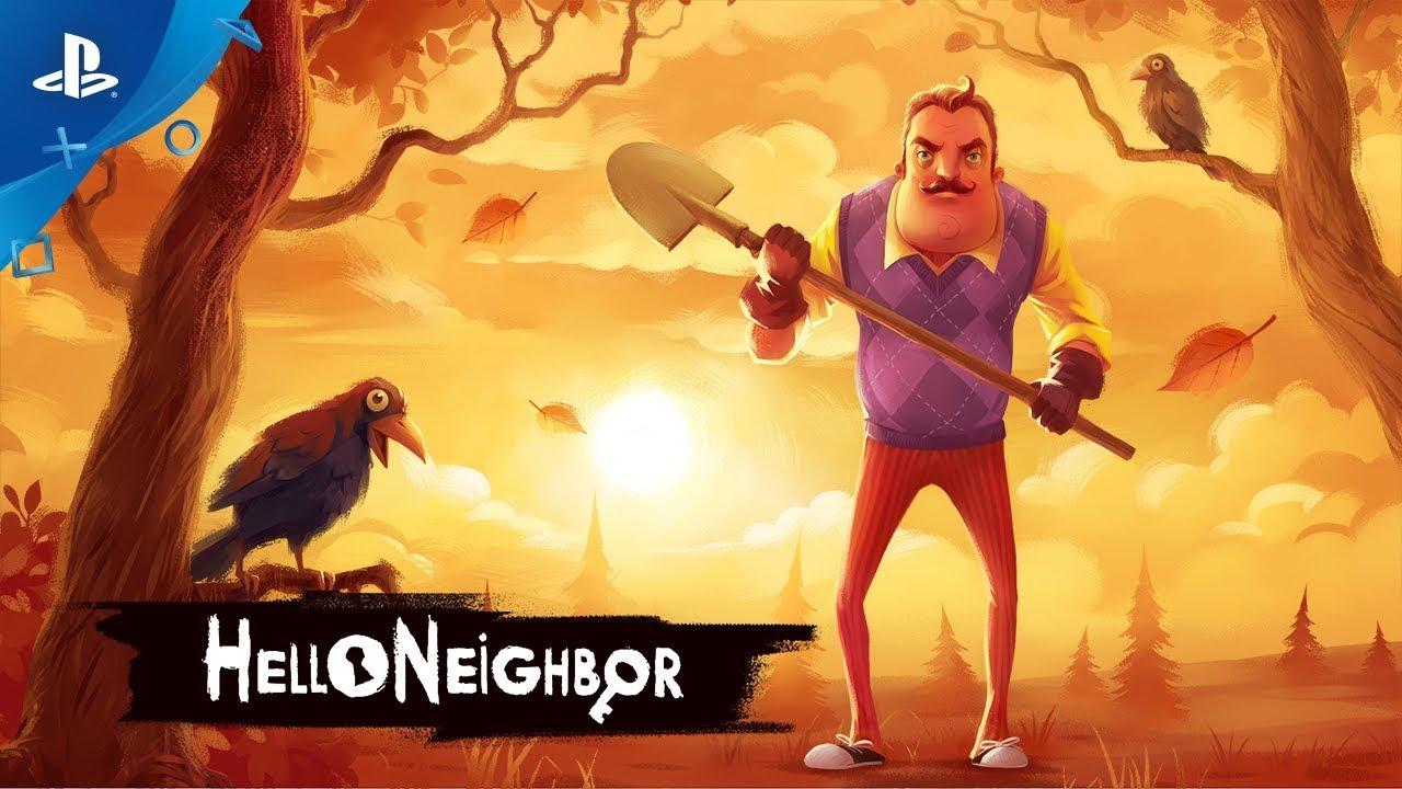 Hello Neighbor Announce Trailer Ps4 Youtube