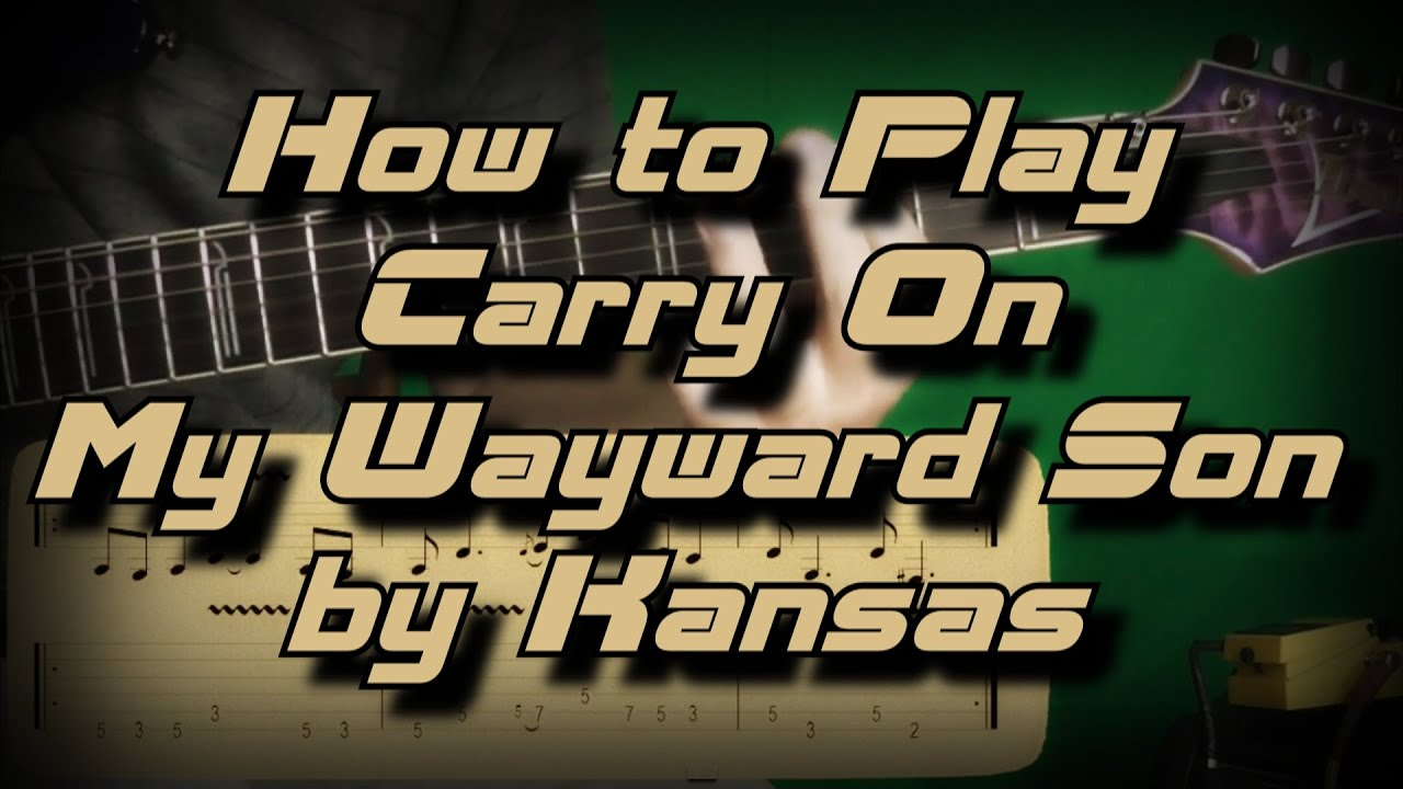 how to play carry on wayward son on piano