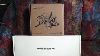 Mosconi Gladen AS 300.2 White + Pride Solo Neo 10