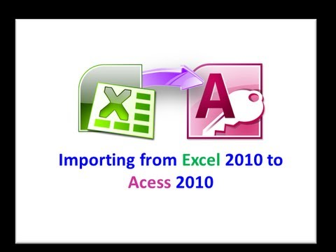 Excel Data To Access Table