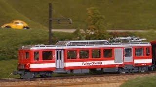 Die größte Modelleisenbahn der Schweiz in Spur 0 mit Führerstandsmitfahrt