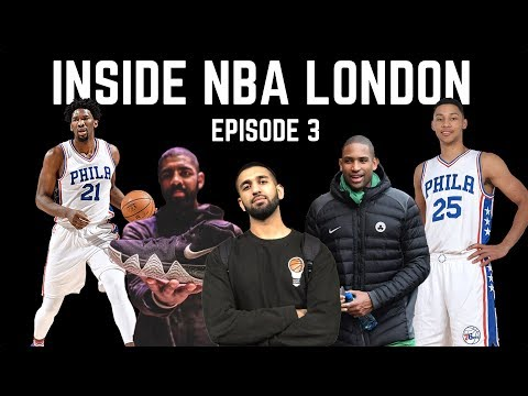 KYRIE 4 EXCLUSIVE SNEAKER LAUNCH, AL HORFORD INTERVIEW, 76ERS PRACTICE + MORE: HG VLOG EP.3