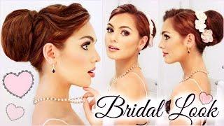 Bridal Makeup & Hair Tutorial | All Drugstore