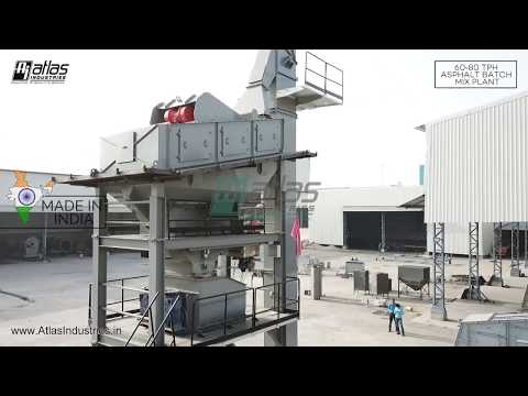 60-80 Tph Asphalt Batch Mix Plant