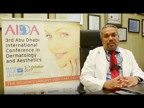 3rd Abu Dhabi International Conference in Dermatology and Aesthetics - Dr. Khaled Othman