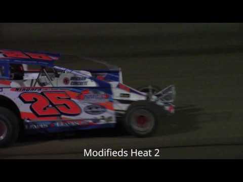 Ransomville Speedway Modified Heat Races 5-12-17