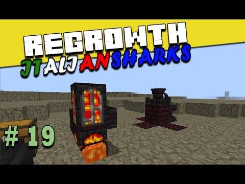Regrowth ITA Minecraft Ep 19 - E crucible furnace sia - # ...
