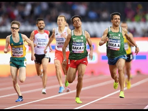 Men's 800m T13 |Final | London 2017 World Para Athletics Championships