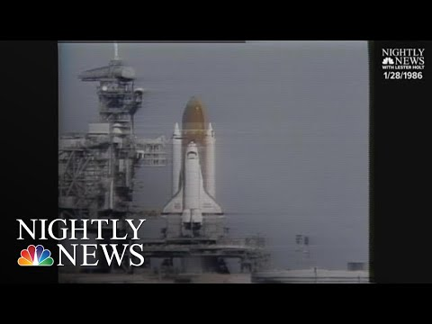 Archival: Space Shuttle Challenger Disaster | NBC Nightly News