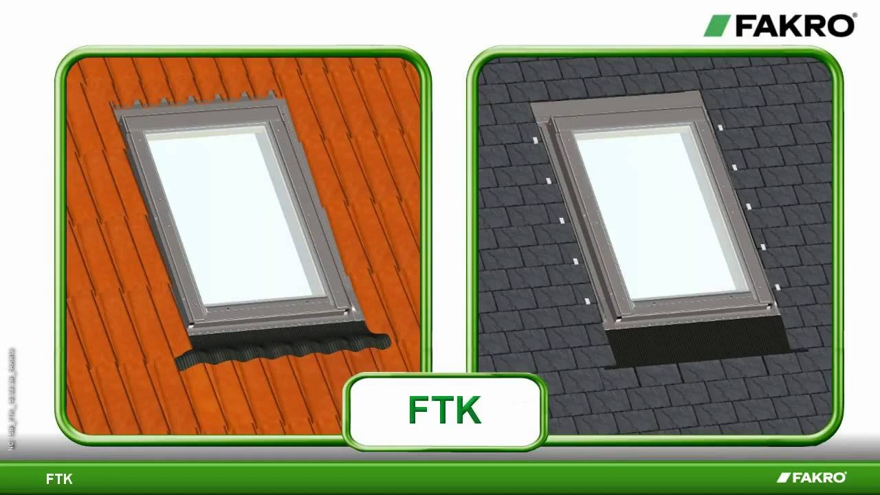 Instalaci n ventana para techo ftk de fakro youtube for Ventanas para techos planos argentina