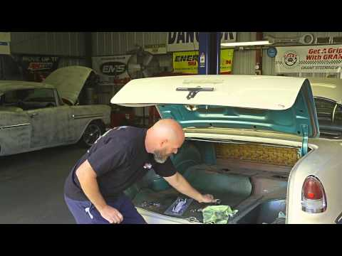 How To Remove The 1955 Chevy Trunk Emblem | Danchuk USA