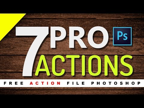 7 PRO Effects Photoshop Actions By Sandeep'z Creation | Photo Effects | 10K Subscriber Special
