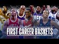 YouTube Turbo 50 First Career Baskets from NBA Players