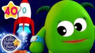 5 Little Monsters | Halloween Special + More Nursery Rhymes & Kids Songs | Little Baby Bum