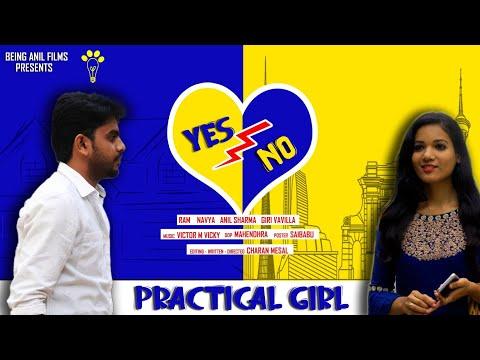 Yes Or No IITelugu Short Film   Bhargav Ram  Navya  Giri    Being Anil Films  