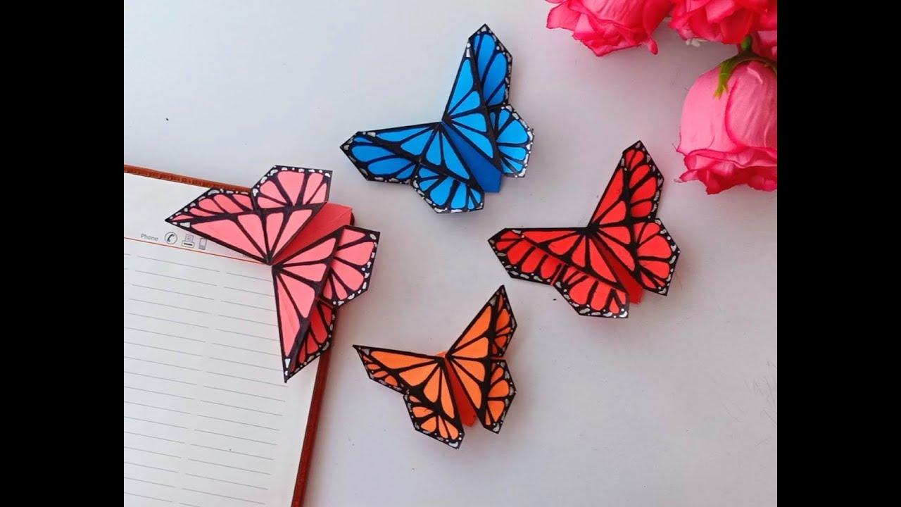 How To Make Beautiful Origami Flower Bookmark. - DIY DIY Tutorial ...   720x1280