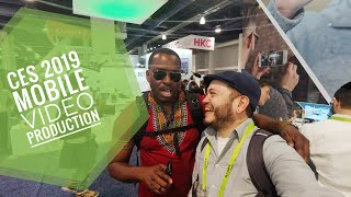 CES 2019 Day Two: My Vlogging Rig Using the LG V40!