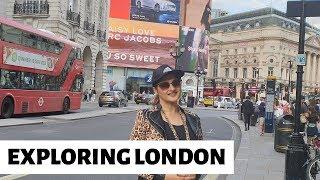 Live From Central London | Exploring London | Jan Rambo | Sahiba | Lifestyle With Sahiba