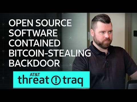11/29/18 Open Source Software Contained Bitcoin-Stealing Backdoor   AT&T ThreatTraq