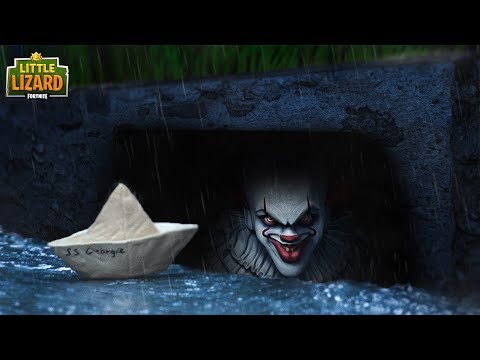 Going into IT'S SEWER!!!  IT x Fortnite