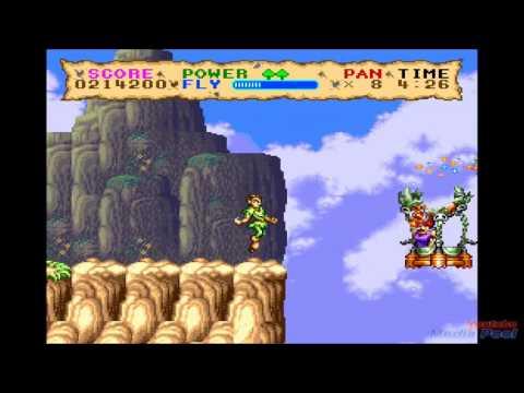 1992 Hook  (SNES) Game Playthrough Retro Game