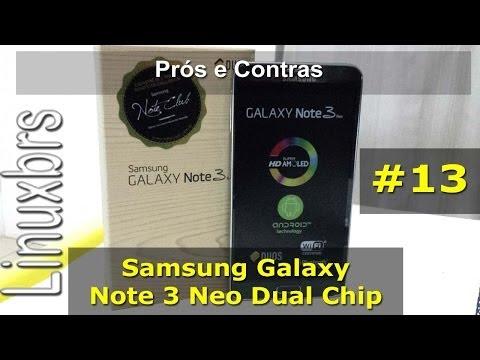 Galaxy Note 3 Neo - Prós e Contras (minha opinião) - PT-BR - Brasil