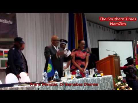 Swaziland's Prime Minister, Dr Barnabas Sibusiso Dlamin