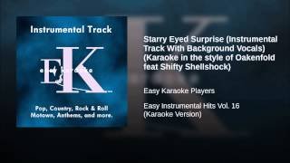 Starry Eyed Surprise (Instrumental Track With Background Vocals) (Karaoke in the style of...