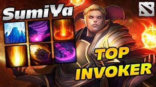 SumiYa TOP Invoker Player Dota 2