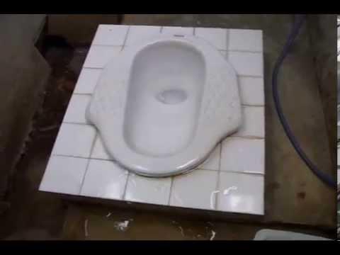 Asian / Thai Style Squat Toilet - Use & Etiquette