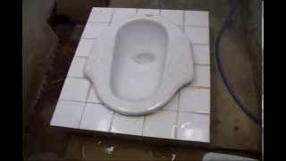 Asian / Thai Style Squat Toilet - Use & Etiquette