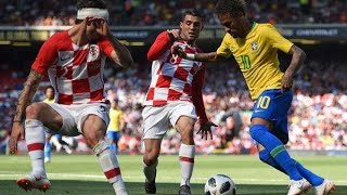 El golazo impresionante que le clavó Neymar a Croacia en su regreso