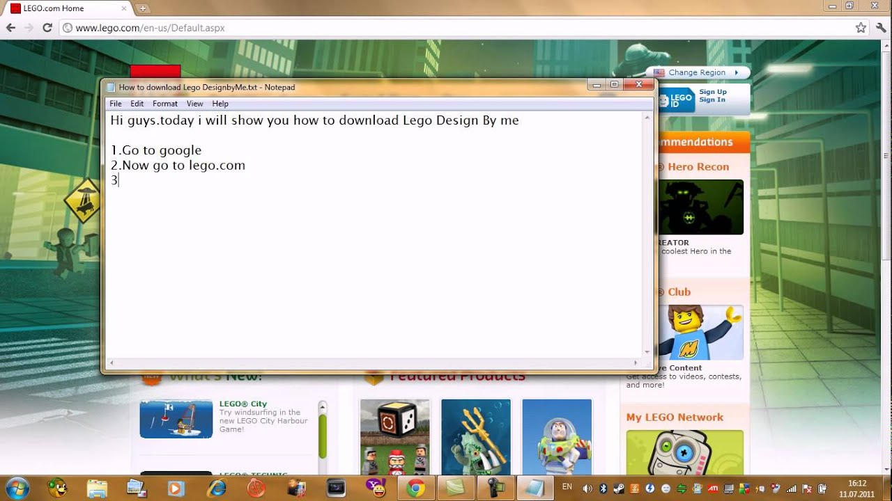 How to download Lego Design By Me