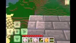 Minecraft Pocket Edition Survival: Episode 7 - Mob Trap